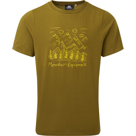 Mountain Equipment Vista Tee Men fir green